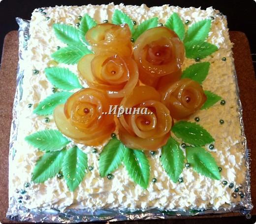 а этот тортик тоже готовился вместе с предыдущим, но так сфоткать и не успела, уж очень быстро его съели))) фото 3