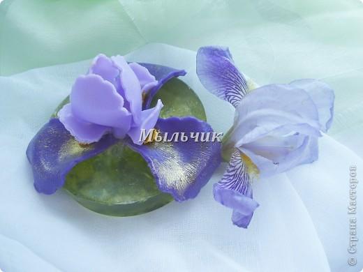 Огуречное глицериновое мыло с нуля , украшение из основы. фото 1