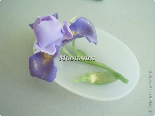 Огуречное глицериновое мыло с нуля , украшение из основы. фото 2
