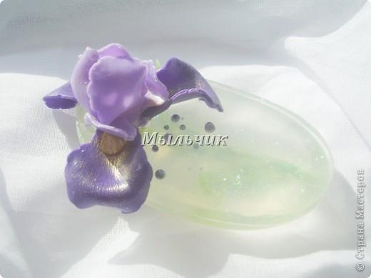Огуречное глицериновое мыло с нуля , украшение из основы. фото 3