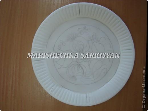 (МК) Мастер-клас по петриковской росписи. Роспись декоративной тарелочки.  фото 3