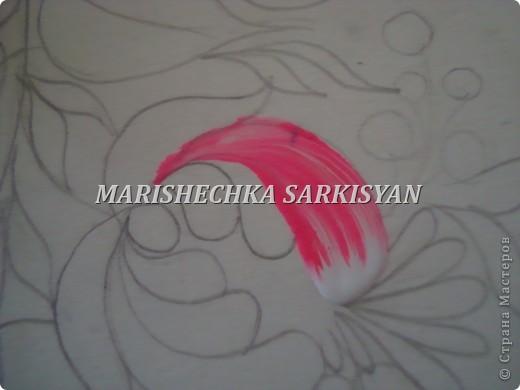 (МК) Мастер-клас по петриковской росписи. Роспись декоративной тарелочки.  фото 8