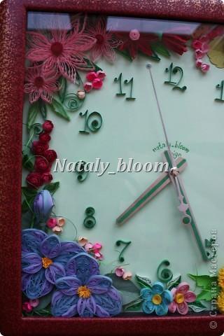 Цветочные часы фото 3