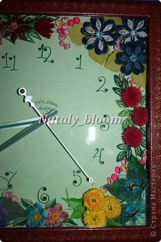 Цветочные часы фото 6