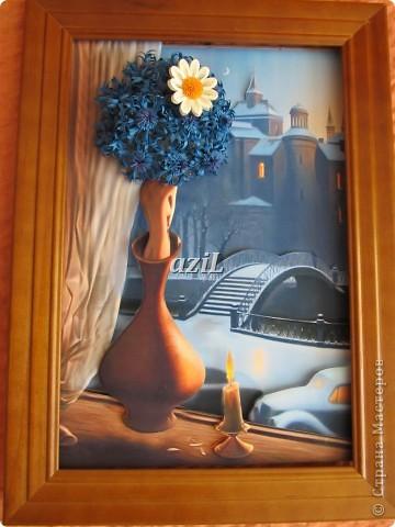Доброе утро всем Мастерицам! Я к вам с моей любимой композицией, так меня за душу взяла эта картинка, руки зачесались :)), автора к сожалению не знаю.