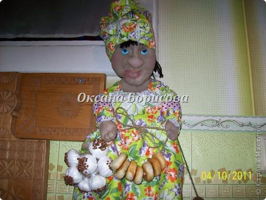 Моя первенница Агриппина Ивановна.Хотелось молодуху сделать,но увы.... фото 2