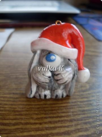Зайчишки-на елку или брелочек))) фото 2