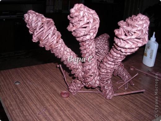 Предлагаю к новому году сплести  дракончика упрощенным методом. фото 16