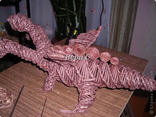 Предлагаю к новому году сплести  дракончика упрощенным методом. фото 21