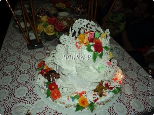 Торт на День рождения  сына.