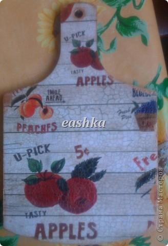 Вот они - мои первые досочки с кракелюром))) фото 6