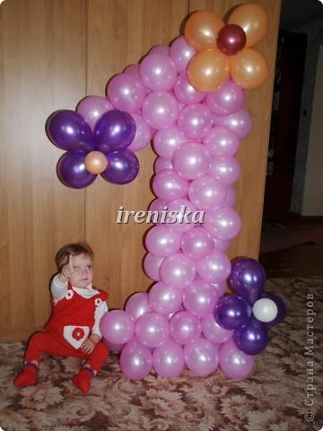 цифра один из шаров своими руками пошаговая инструкция - фото 9