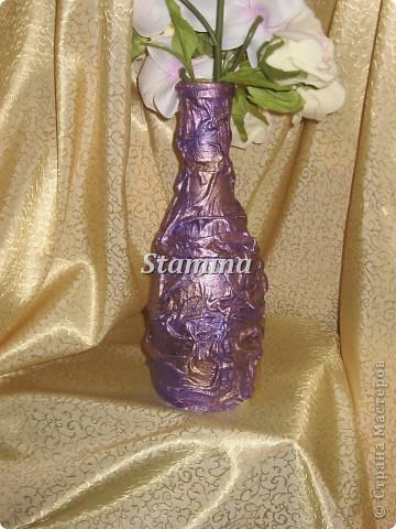 """Меня так увлек декупаж на бутылочках..что теперь все родственники озадачены поиском """"тары"""" :)))  фото 7"""