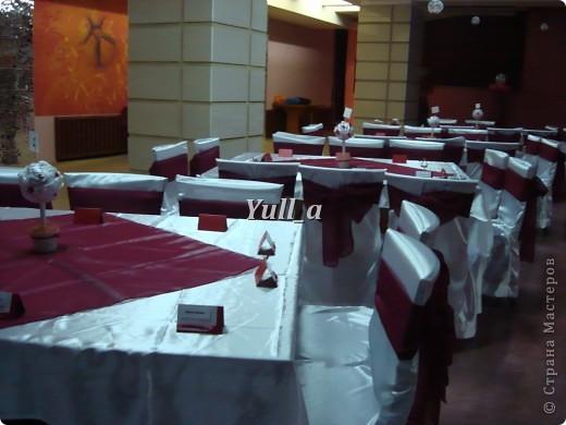 Привет всем! Долго думая над тем как разместить номера столов на свадьбе брата - придумала сделать вот такие топиарии, сделаны они были на скорую руку поэтому в дальнейшем буду их дорабатывать  фото 5