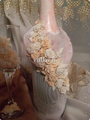 Новые бокал, бутылка, и первая свеча фото 6