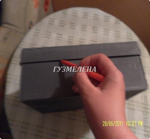 Очень полезная коробочка получилась, для хранения пуговиц фото 4