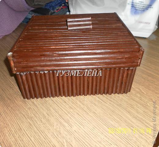 Очень полезная коробочка получилась, для хранения пуговиц фото 1
