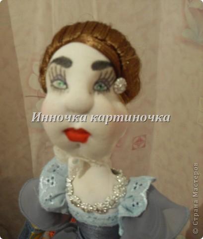 Вот такая куколка поселилась на холодильнике. Очень долгожданная и крапотливая работа была проделана. фото 2