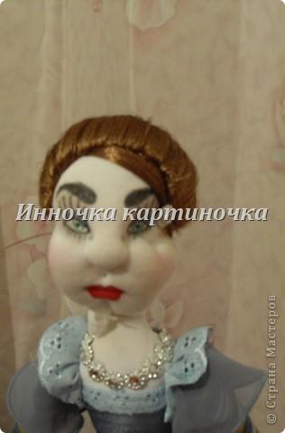 Вот такая куколка поселилась на холодильнике. Очень долгожданная и крапотливая работа была проделана. фото 3