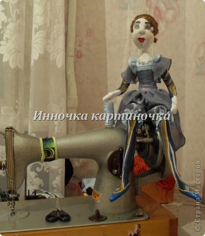 Вот такая куколка поселилась на холодильнике. Очень долгожданная и крапотливая работа была проделана. фото 4