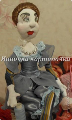 Вот такая куколка поселилась на холодильнике. Очень долгожданная и крапотливая работа была проделана. фото 8