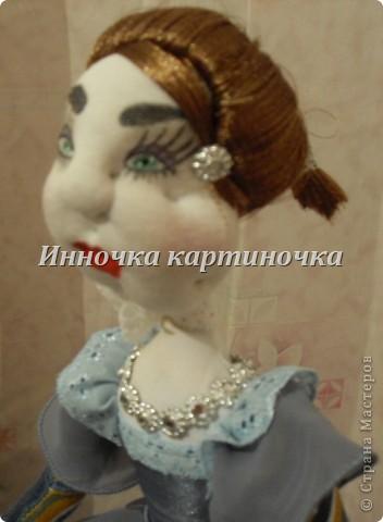Вот такая куколка поселилась на холодильнике. Очень долгожданная и крапотливая работа была проделана. фото 6