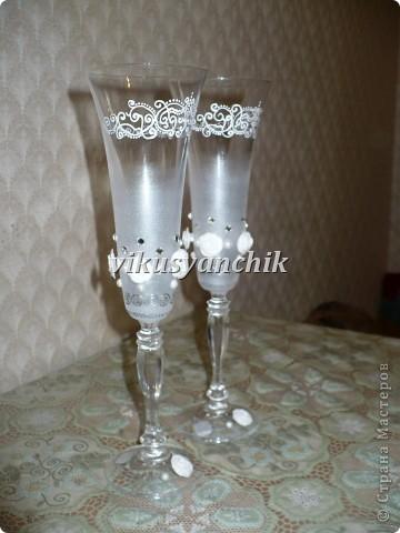 бокалы с росписью фото 2