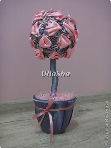 Сделала для любимой подружки на день рождения, для ее серо-розовой комнаты! фото 1