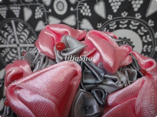 Сделала для любимой подружки на день рождения, для ее серо-розовой комнаты! фото 2