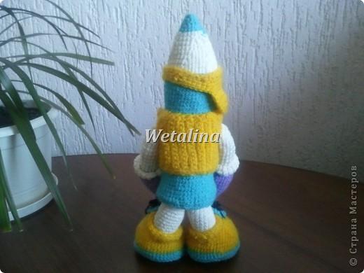 Спасибо огромное Елене Беловой за потрясающий МК http://stranamasterov.ru/node/94638?c=favorite  с помощью которого получился вот такой замечательный Карандашик!!! фото 3