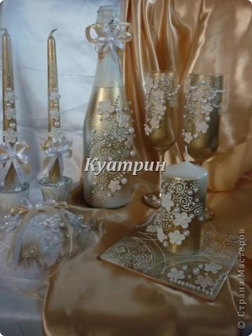 Набор свадебный. фото 6