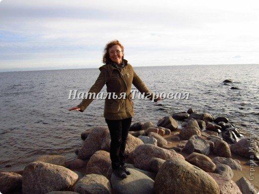 Здравствуйте ,дорогие  жители Страны Мастеров! В прошлый раз  я ненароком заморозила вас своим репортажем  с Финского залива. В качестве реабилитации приглашаю полюбоваться осенним  Финским заливом  в  ясную погоду !Чудо как хорош!!! фото 4