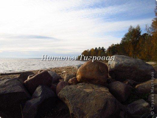 Здравствуйте ,дорогие  жители Страны Мастеров! В прошлый раз  я ненароком заморозила вас своим репортажем  с Финского залива. В качестве реабилитации приглашаю полюбоваться осенним  Финским заливом  в  ясную погоду !Чудо как хорош!!! фото 3