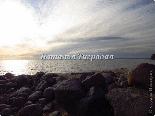 Здравствуйте ,дорогие  жители Страны Мастеров! В прошлый раз  я ненароком заморозила вас своим репортажем  с Финского залива. В качестве реабилитации приглашаю полюбоваться осенним  Финским заливом  в  ясную погоду !Чудо как хорош!!! фото 5
