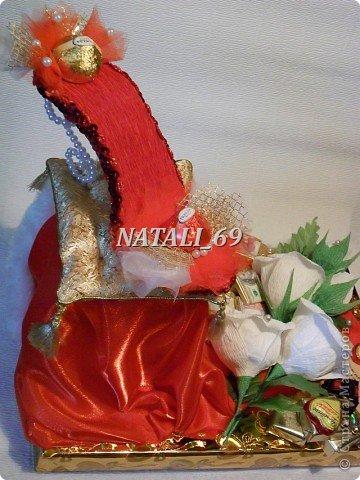 Работа сделана на заказ,  ко Дню рождения молодой женщины.  фото 4