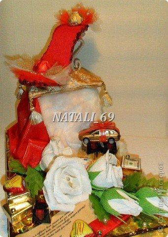 Работа сделана на заказ,  ко Дню рождения молодой женщины.  фото 2