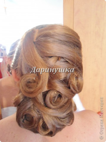 Причёска для невесты на венчание фото 3