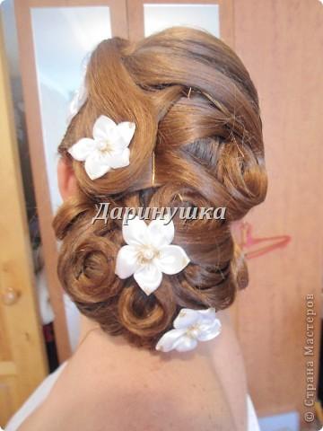Причёска для невесты на венчание фото 1