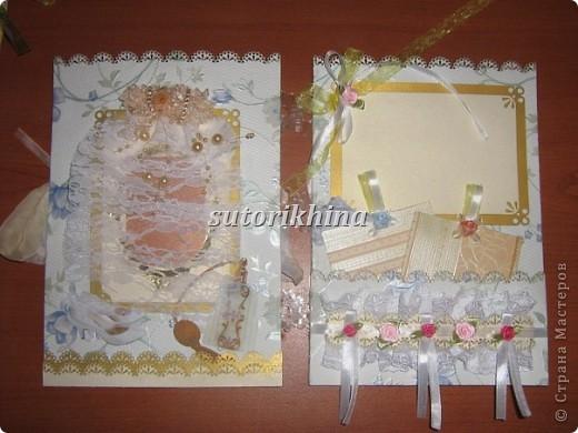 Свадебный альбом в стиле скрапбукинг фото 4