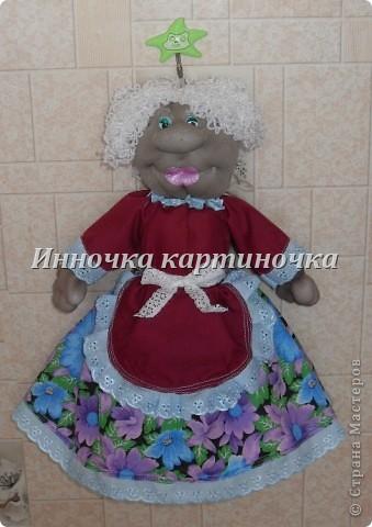 Эту куколку я сделала для своей тети на день рожденье. фото 1