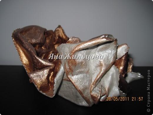 вазочка из кожи фото 3