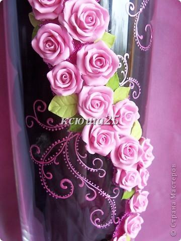 Ваза в подарок.....Pink roze фото 3