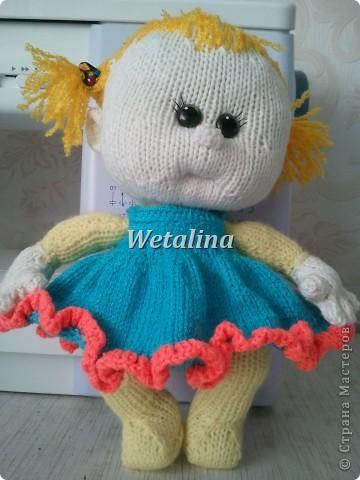 Куклы Вязание спицами Малышка