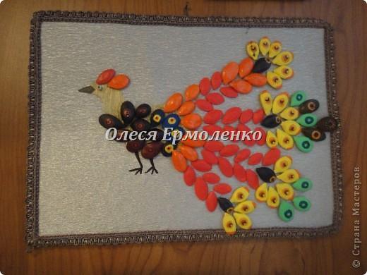 Жар-птица-символ возрождения , олицетворяющий осуществление всех желаний!Красили с дочей акриловыми красками. фото 2