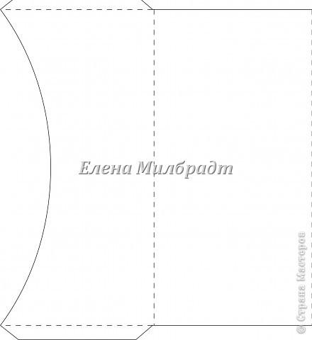 Схемы конвертов Макет.  Елена Милбрадт.