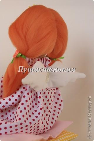 Вот такая у меня принцесска вышла) Любит восседать на всяких мягкостях с некоторыми жесткостями)))))) вот такие они, странные принцессы, любят себе искать приключения....))) фото 7