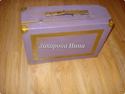 ретро-чемодан (уже обновлённый) фото 1