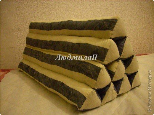А это моя Тайская подушка.Заготовки.Уже три  из них-соединила. фото 8