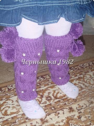 Гетры для дочурки  фото 1