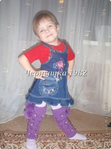 Гетры для дочурки  фото 3